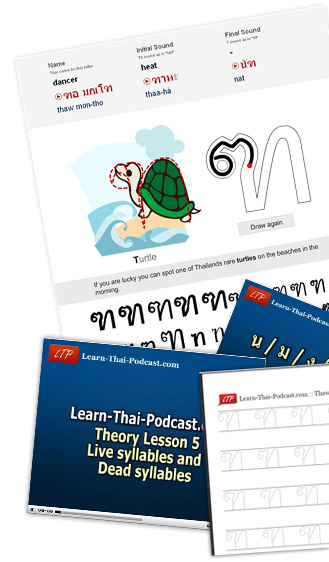 Learn to read and write Thai